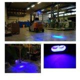blaue Sicherheits-warnendes Gabelstapler-Arbeits-Licht des Punkt-10W für LKW