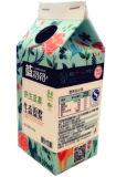 dreieckiger Kasten 500ml/Karton für Milch-Saft/Sahne/Wein/Joghurt/Wasser