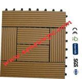 Напольная легкая плитка установки DIY WPC, Decking WPC DIY