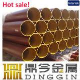 Dn40-300 rotes überzogenes Epoxidrohr der Entwässerung-En877