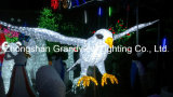 24V White Vivid Eagle LED Ornament Light come Christmas Holiday Decoration