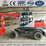 Piccolo escavatore della rotella della Cina con il certificato ISO9001