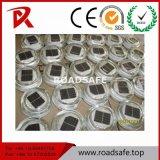 Roadsafeの工場販売360の程度反射LEDの緩和された太陽ガラス道のスタッド