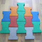 Multi tipo telha de borracha do quadrado do tamanho com diferente