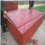 Madeira compensada vermelha da película reusar da película, madeira compensada impermeável para a construção