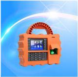 Imprägniern/Dustproof/Shockproof Biometric Portable Fingerprint Zeit Attendance mit GPRS (TFT500P)
