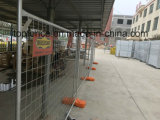 紫外線扱われた鋼鉄署名の一時塀のパネル