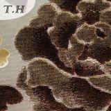 Il poliestere 100% ha lavorato a maglia il tessuto del velluto del taglio del tessuto