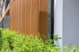 151X26mmの屋外の固体装飾的な木ずりの木製のプラスチックボード