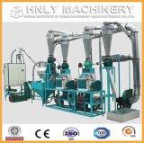 Preço da máquina de fresagem de milho de 5-100tpd, moinho de farinha de milho
