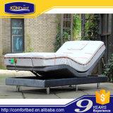 Lit confortable à lit électrique à lit de barge de meuble de confort avec jupe de lit