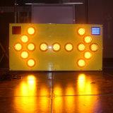 Les lampes LED 1200*600mm LED clignotant signe de la circulation du Conseil de flèche