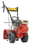 Venta caliente del gusano de engranaje helicoidal cultivador Manual arado a motor de gasolina