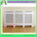 Couverture blanche de chaufferette de radiateur de peinture pour le marché BRITANNIQUE, couverture de radiateur de forces de défense principale
