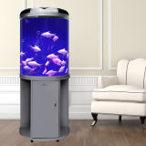 Customized Wholesales Home Semicircle Eco Fish Tank