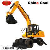 Hl135 13.5 Ton de gran capacidad excavadora de ruedas