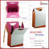 Wine su ordinazione Packaging Bag fatto a mano (1704R5)