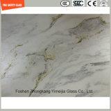 Uitstekende kwaliteit 319mm Af:drukken Silkscreen/Zuur etst/de Berijpte/Aangemaakte Veiligheid van het Patroon/Gehard glas voor de Vloer van het Meubilair van het Huis & van het Hotel/Verdeling met SGCC/Ce&CCC&ISO