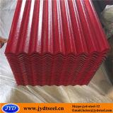 PPGL /Corrugated Prepainted 아연 금속 지붕 격판덮개 또는 강철판