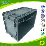 Plástico estándar de la UE sobre contenedores de almacenamiento para la industria automotriz