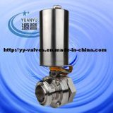 Pneumatic Head Butterfly Valve Stainless Steel