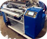 巻き戻す機械、熱ペーパーロールスリッターを切り開く現金ペーパー