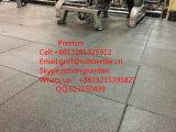 Caucho Suelo del azulejo, Pisos para gimnasia Mat, Zona Antishocking Alfombra