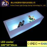 Cabinet rougeoyant de vin de barre de l'affichage moderne LED de vin