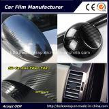 VinylFilm van de Omslag van de Auto van de Vezel van de Koolstof van de Bescherming van het Lichaam van de auto de Glanzende 5D
