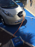 電気自動車日産の葉のための速い充満端末