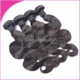 自然なカラー100%加工されていない卸し売りバージンのブラジル人の毛