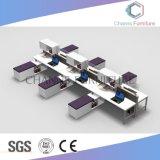 Mobilier moderne 4 sièges Ordinateur bureau station de travail