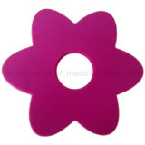 Coaster Shaped do silicone da flor (RS37)