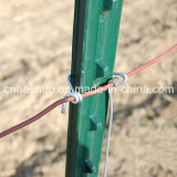 Lourd-rendement 1.33lb/FT Green ou Red Steel Metal T Bar Fence Post d'OIN pour Vineyard Cheap