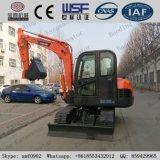 Nueva mini correa eslabonada hidráulica roja Excavators_Bd65 para la venta