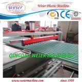 Machine de l'extrudeuse double en plastique de l'UPVC Feuille de toiture en PVC de décisions