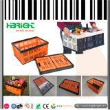 Les caisses en plastique pliable pour l'alimentation Fruits