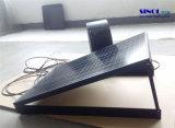 Ventilador acústico com energia solar de 14 polegadas 20W para parede com sistema de bateria embutido 30W 9.6ah (SN2015012)