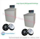 Baja velocidad de alta calidad centrífuga refrigerada de gran capacidad