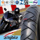 Motorrad-Reifen/Gummireifen der Hochleistungs--schräger Rückseiten-90/80-17