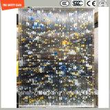 호텔 & 가정 문 Windows 또는 샤워 또는 분할을%s 4-19mm 안전 건축 유리, 최신 녹는 패턴 장식적인 유리 또는 SGCC/Ce&CCC&ISO 증명서를 가진 담