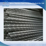 Tubos espirales de la costura del bloqueo hechos de la hoja perforada