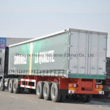 BPW Axle를 가진 40ft 50tons 3 Axle Curtain Utility Trailer