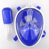 Máscara fresca de la natación de la máscara del tubo respirador de la cara llena de la visión panorámica 180