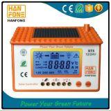 controlador solar manual da carga de 50A PWM com luminoso azul