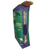 Saco da válvula do papel de embalagem Para o adesivo 20kg do tijolo