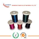 Microfilamento verniciato/smaltato del collegare CuMn12Ni della manganina di /Enamelled
