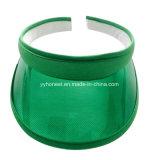 Protezione trasparente della visiera del PVC Sun di vario colore su ordinazione