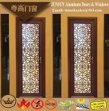 Portello decorativo di alluminio della stoffa per tendine del grano di legno del sandalo di stile cinese