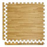 Eco-Friendly половой коврик зерна ЕВА деревянный блокируя Anti-Slip циновку